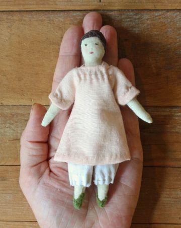 muñecas de trapo para bebes pequeña
