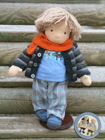 muñecos de tela para niños de jardin de infancia