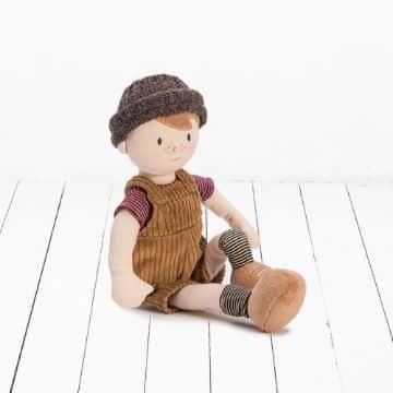 muñecos de tela para niños pequeños