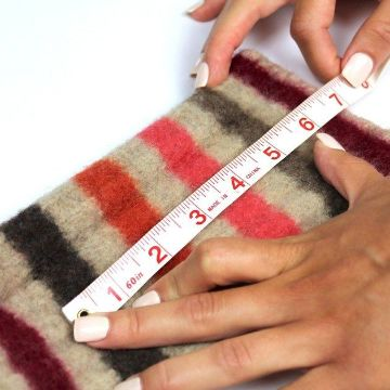 instrucciones para como hacer guantes de tela