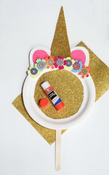 manualidades con papel lustre para fiestas infantiles