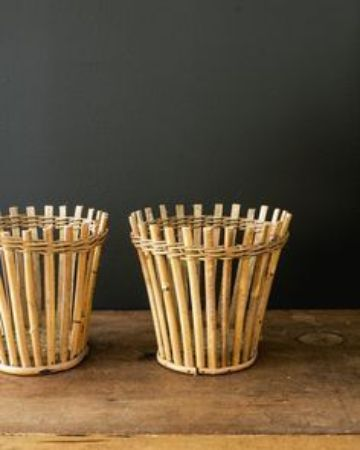 como hacer manualidades con bambu para el hogar