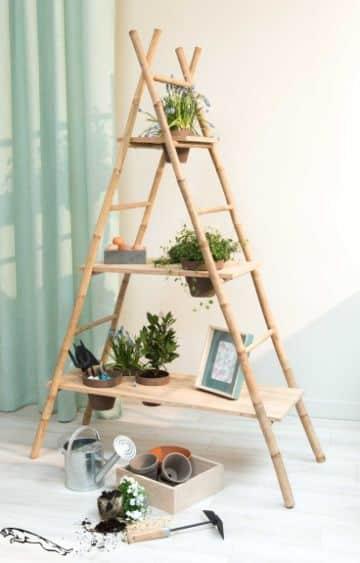 creando manualidades con bambu para el hogar