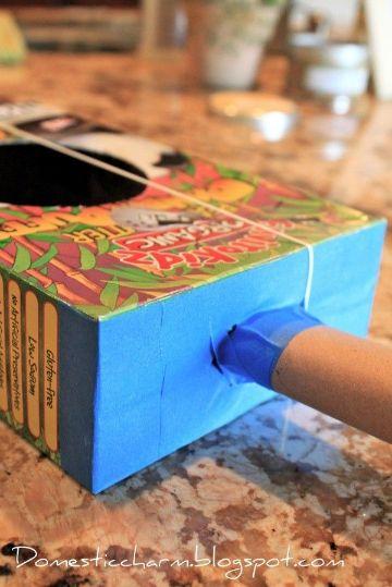 manualidades con cajas de cereal para niños