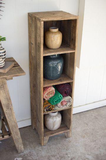 manualidades con madera reciclada para la sala