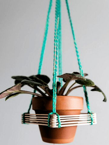 manualidades con palitos de picole para decorar