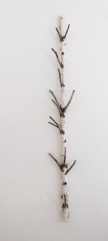 manualidades con troncos y ramas para la sala