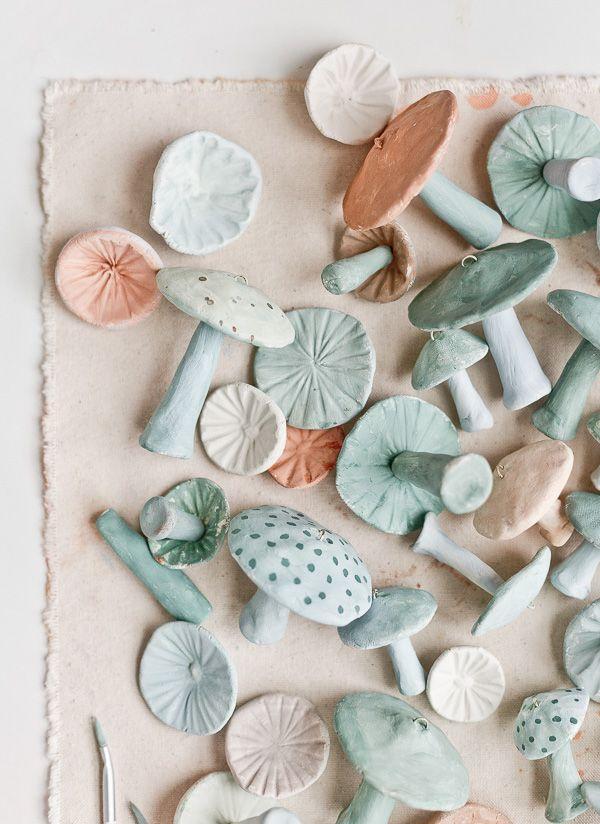 cosas hechas con arcilla para decorar