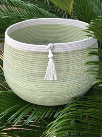 cosas hechas con cuerda para organizar