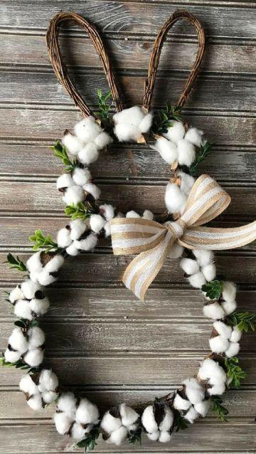 cosas hechas de algodon para decoracion
