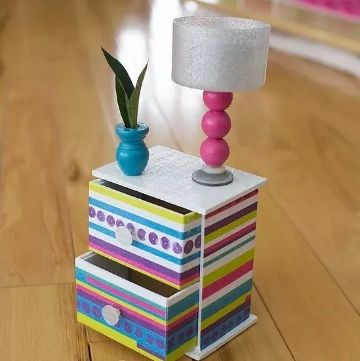 manualidades para muñeca barbie con carton con papel
