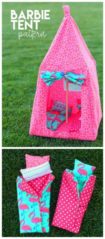 manualidades para muñeca barbie con carton con tela