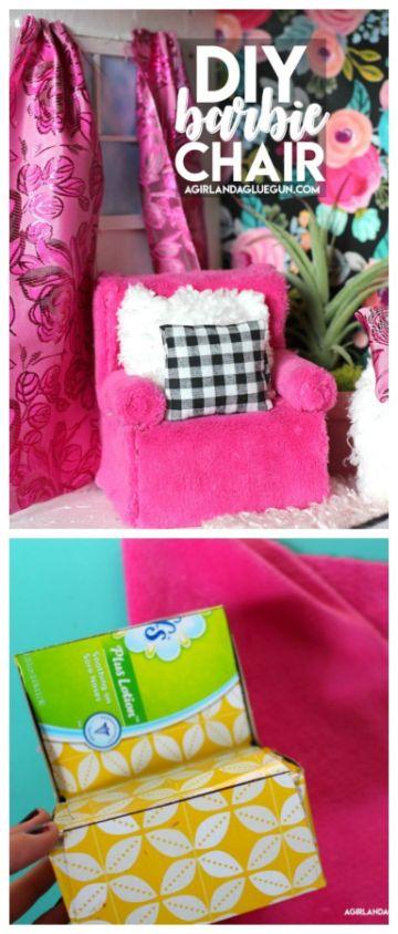 manualidades para muñeca barbie con carton sencillas