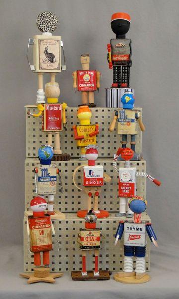 muñecos con materiales reciclables para niños