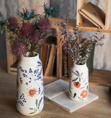 ideas para floreros hechos a mano