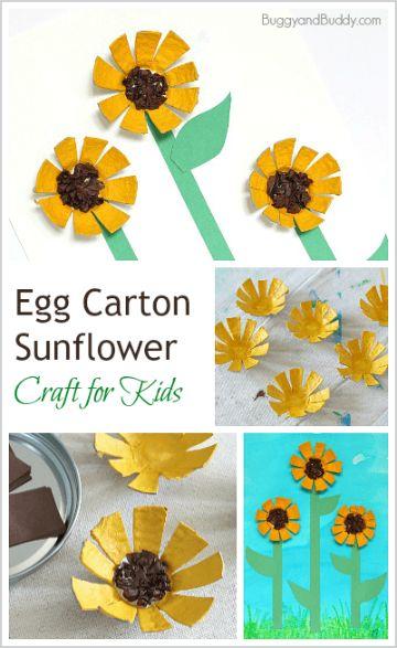 manualidades con maple de huevo para los niños