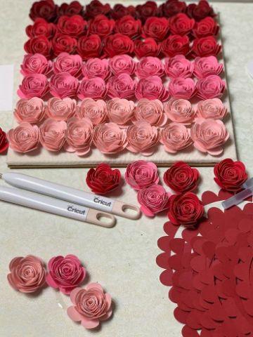 manualidades de flores de papel para regalar