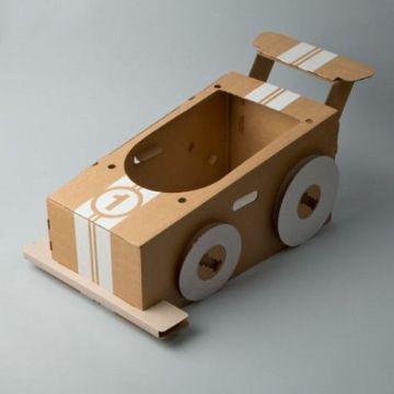 carros con cajas de carton para niños