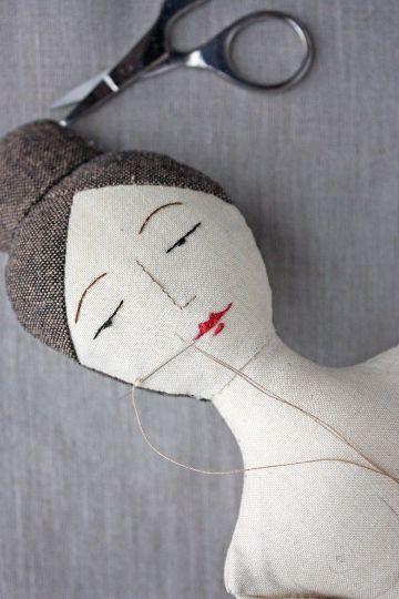 estilos de muñecas de trapo hechas a mano
