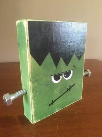 manualidades con bloques de madera para niños
