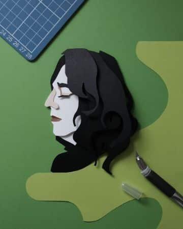 manualidades de papel bond artisticas