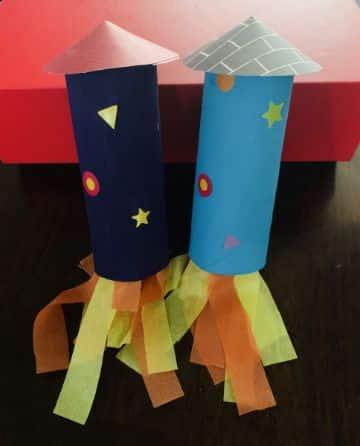 manualidades de papel bond para niños