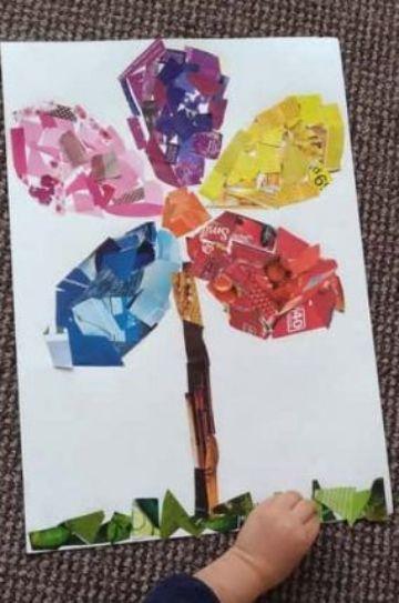 manualidades para niños de 4 años con pintura