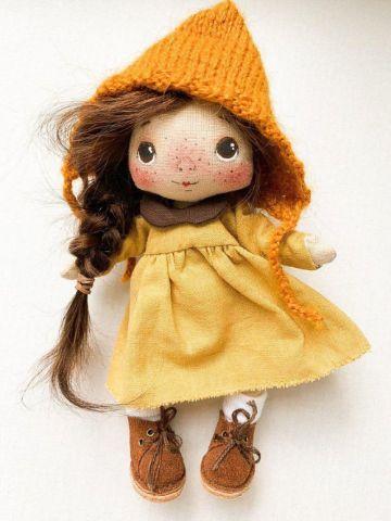 muñecas de trapo hechas a mano para niñas