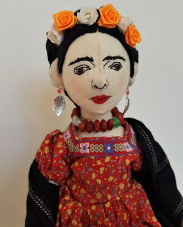 muñecas de trapo de frida kahlo para regalar