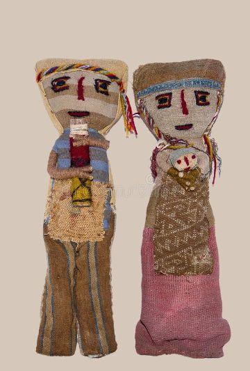 muñecas de trapo peruanas tipicas