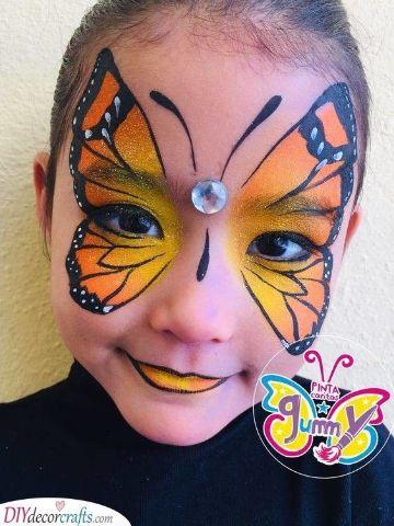 caras de halloween pintadas para niñas