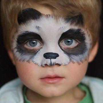 caritas pintadas de animales para fiestas