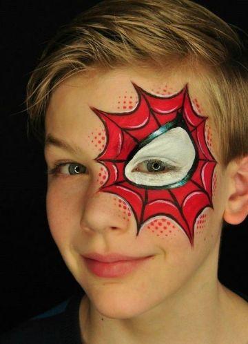caritas pintadas de spiderman ideas