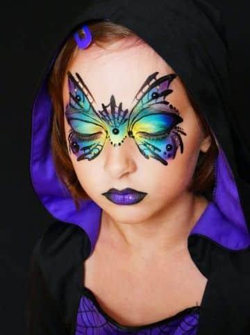 pintacaritas de bruja para niñas diferentes