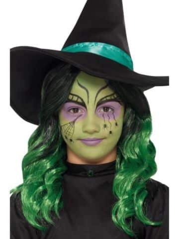 pintacaritas de bruja para niñas ideas