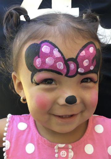 pintacaritas de mickey mouse para niñas