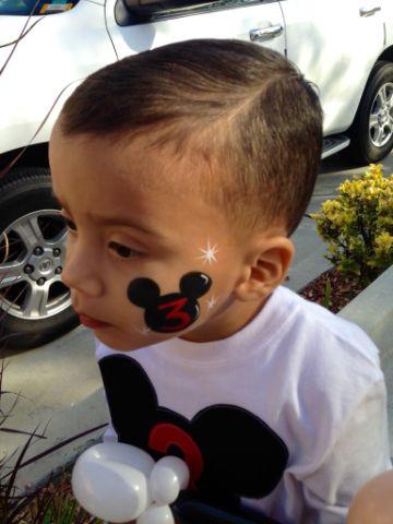pintacaritas de mickey mouse para niños