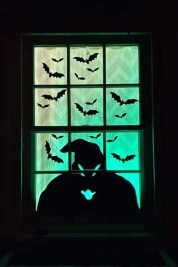 ventanas decoradas de halloween ingeniosas