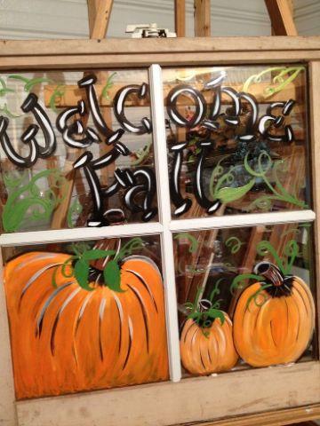 ventanas decoradas de halloween sencillas
