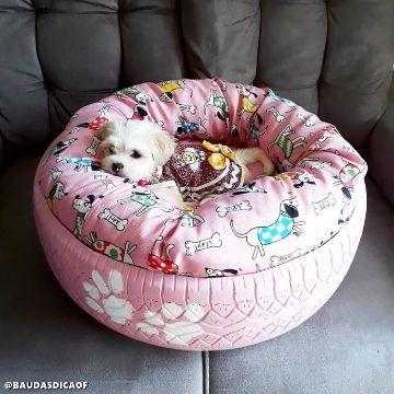 camas para perros de llantas pequeñas