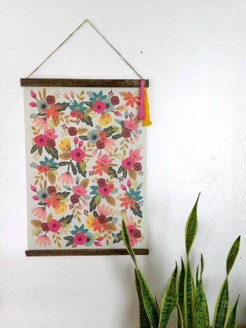 cuadros hechos con tela para la casa