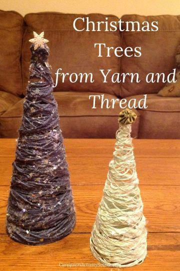 ideas de arboles de navidad artesanales