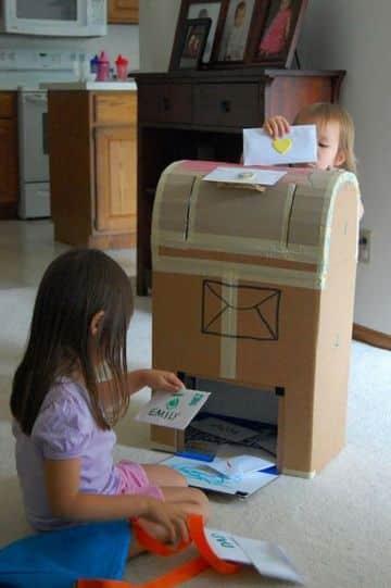 ideas para juguetes de carton para niñas