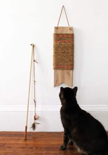 ideas para juguetes para gatos manualidades