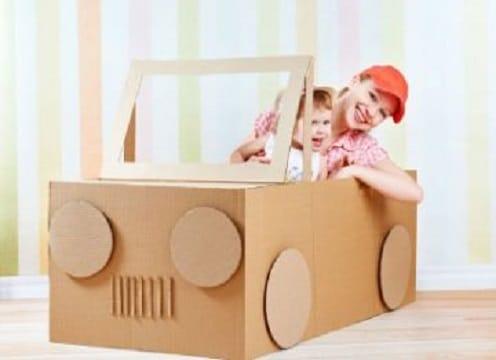 juguetes de carton para niñas pequeñas