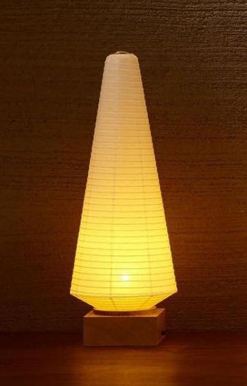 lamparas de papel de arroz largas