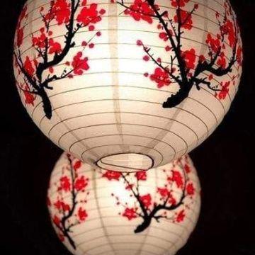 linternas chinas de papel tradicionales