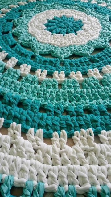 tapetes de trapillo a mano como hacer