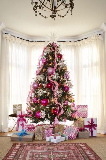 4 formas de arbol de navidad de colores