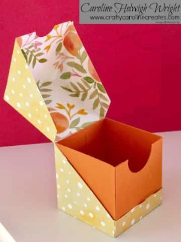 cajas de regalo hechas a mano para navidad